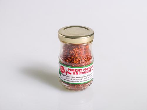 Ground spicy pepper