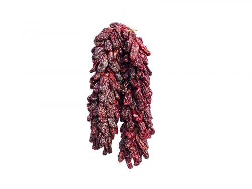 Dried peppers string
